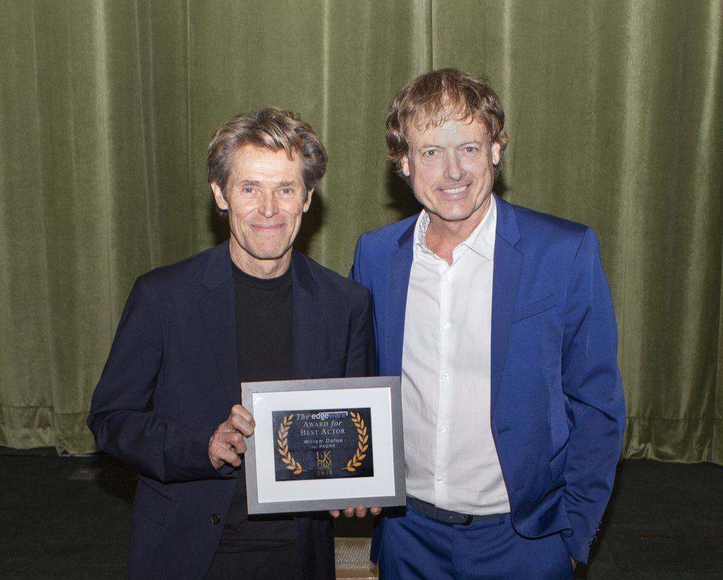 Willem Dafoe Wins the Edgeware Award for Best Actor at UKFF 2018